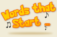 words that start with backgrounds logo